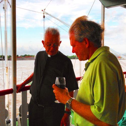 Fr Menard and Ray